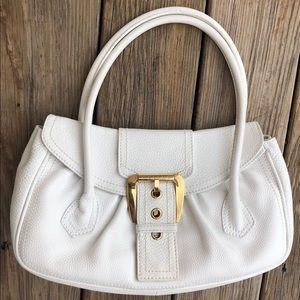 Celine Pebbled leather Baguette Handbag Purse Bag
